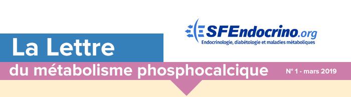 La Lettre du métabolisme phosphocalcique